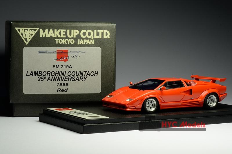 Make Up Eidolon Em219a 1 43 Lamborghini Countach 25th 1988