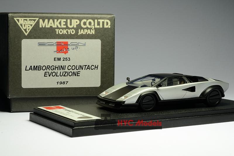 Eidolon Em253 1 43 Lamborghini Countach Evoluzione Hyc Models