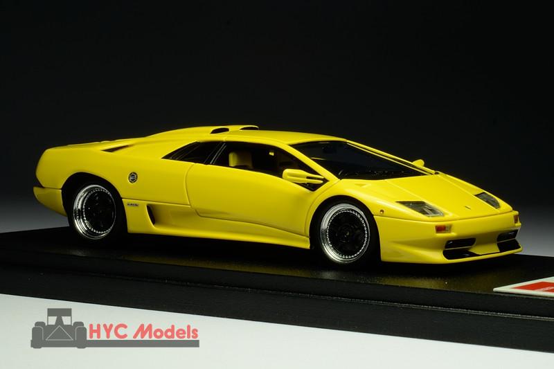 Eidolon Em252a3 1 43 Lamborghini Diablo Sv 1999 Yellow Hyc Models