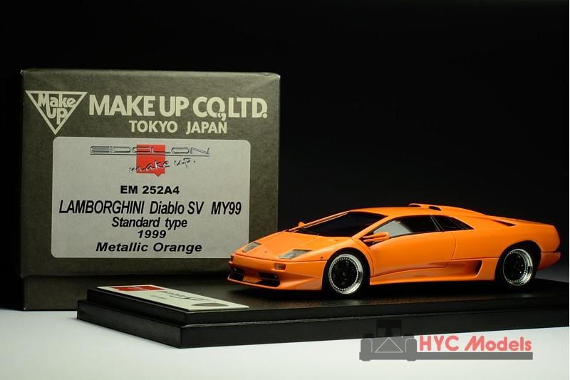 Eidolon Em252a4 1 43 Lamborghini Diablo Sv 1999 Metallic Orange