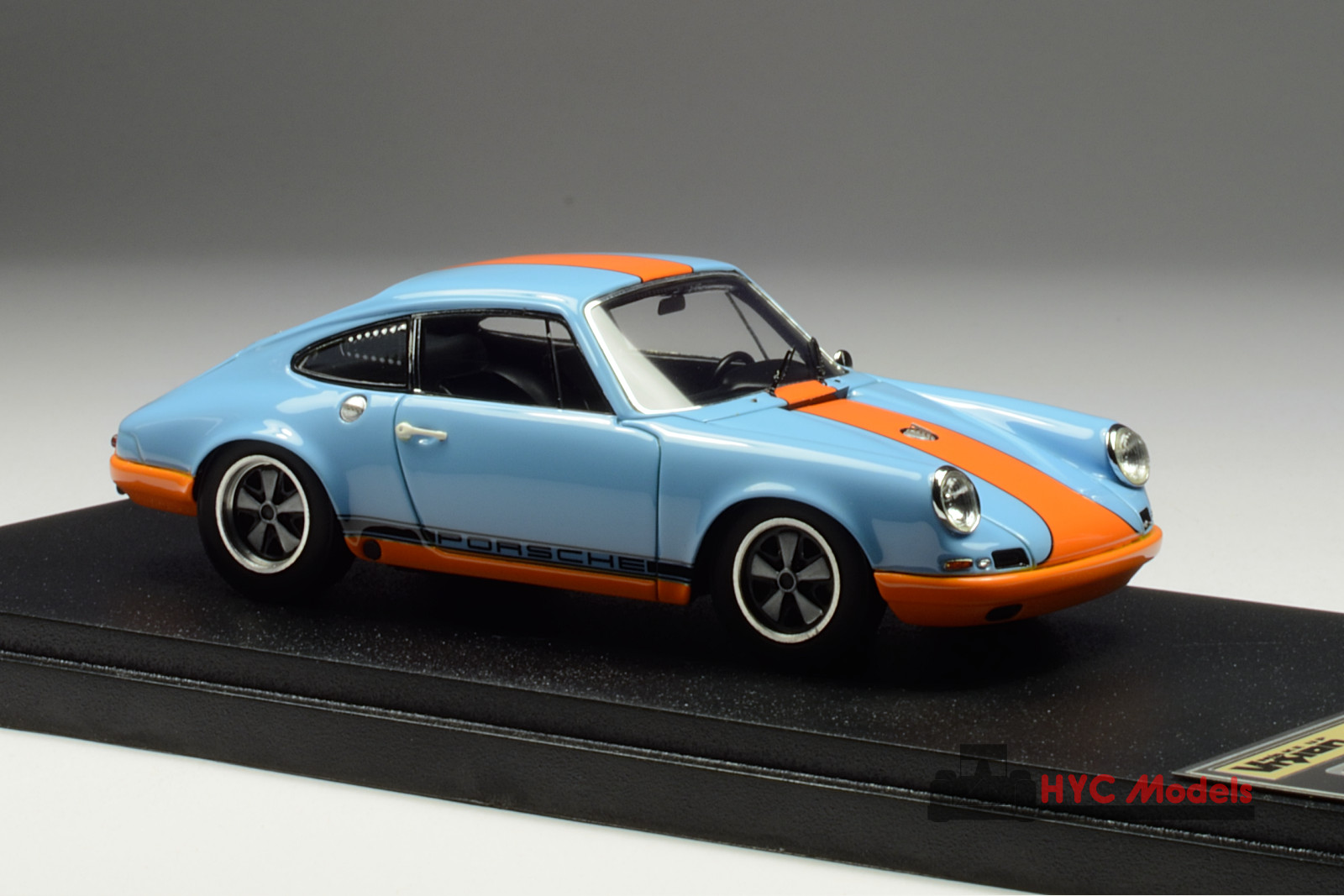 Vision Vm044f 1 43 Porsche 911r 1967 Gulf Blue Hyc Models
