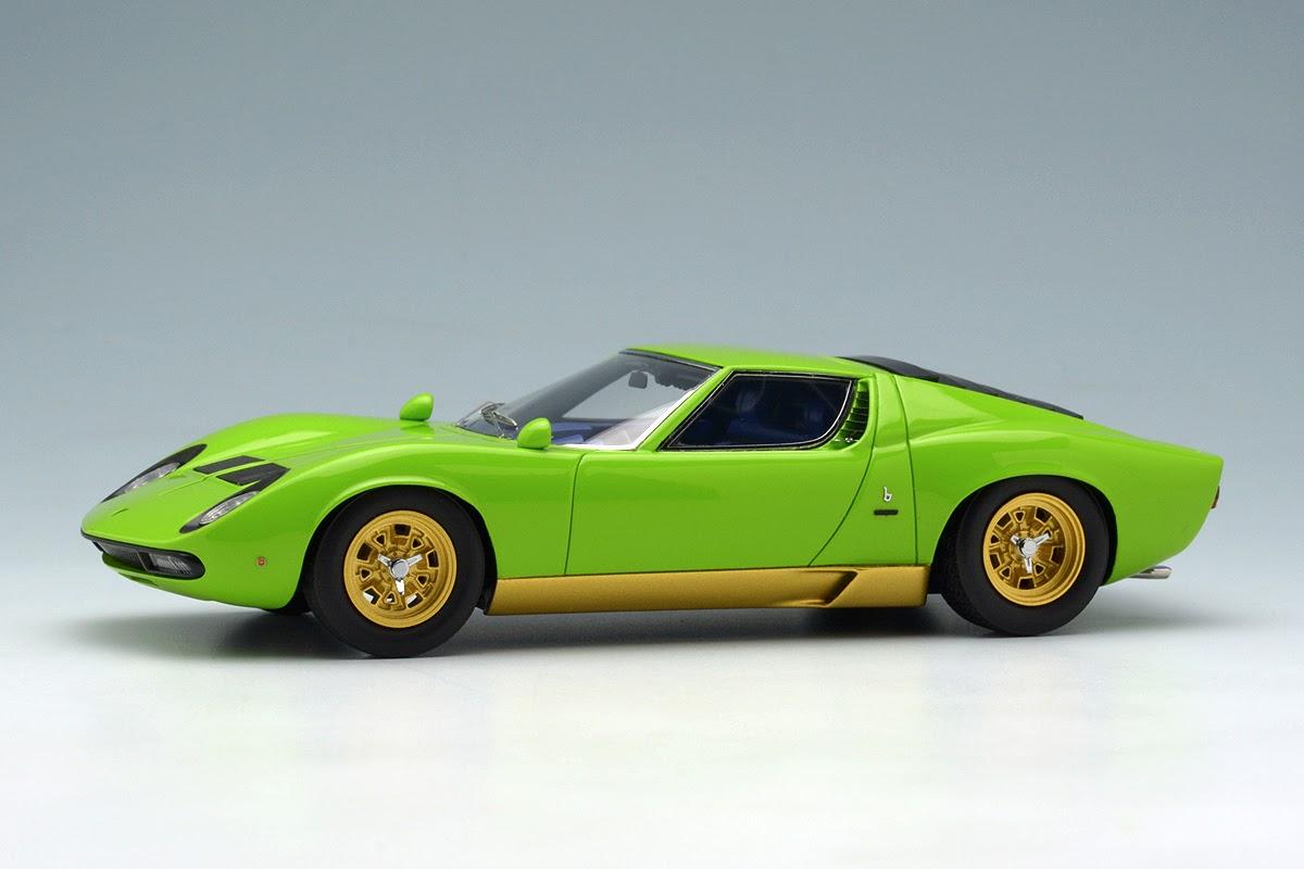 Make Up Eidolon Em319c Lamborghini Miura P400 Sv Lime Green