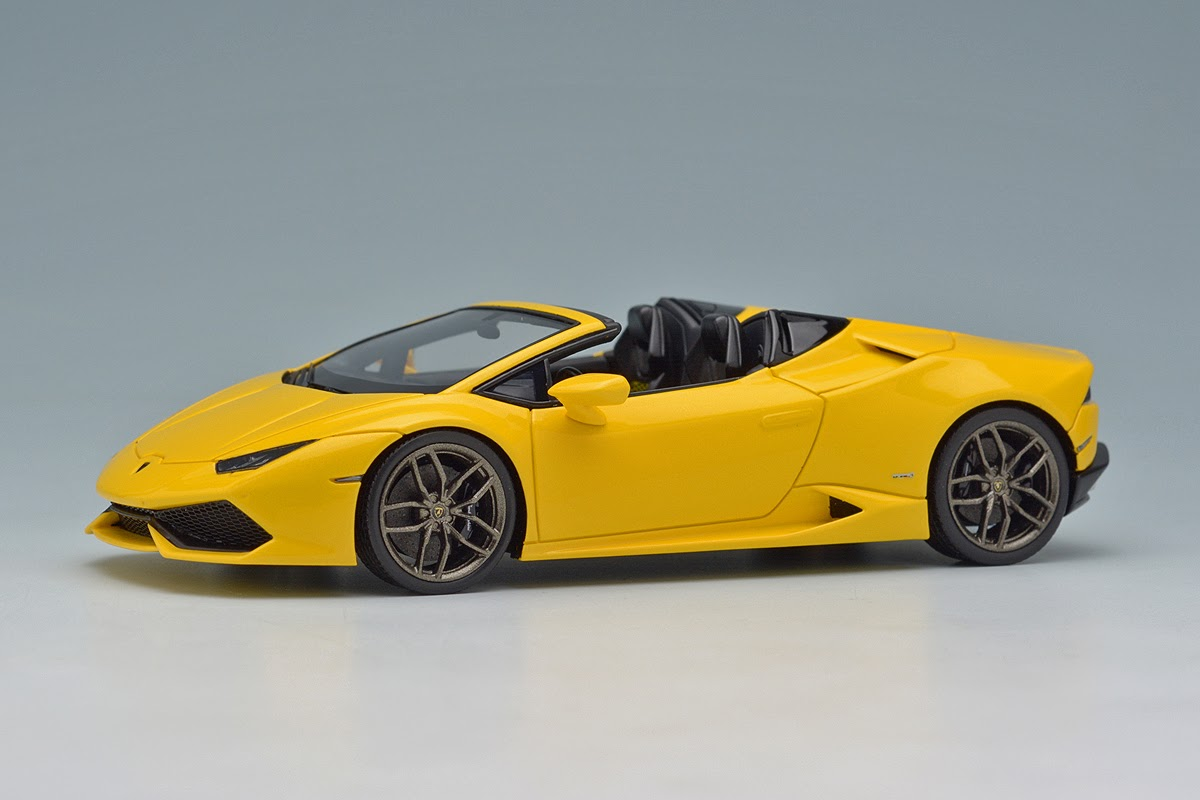 Make Up Eidolon Em342a3 Lamborghini Huracan Lp610 4 Spyder Pearl Yellow
