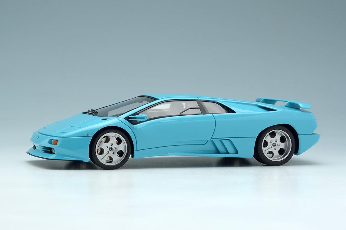 Eidolon Em322e Lamborghini Diablo Se30 1993 Turquoise Blue
