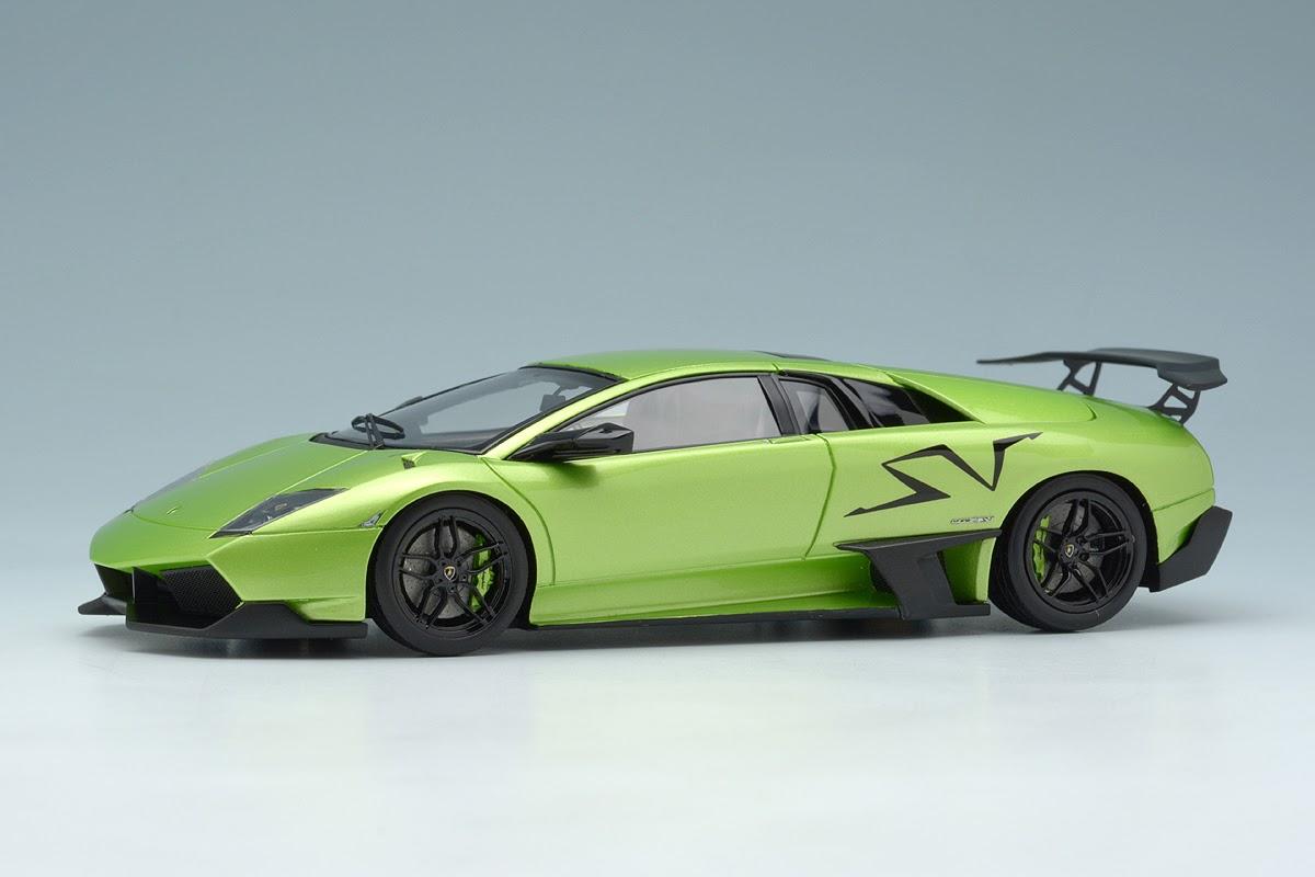 Eidolon Em336f Lamborghini Murcielago Lp670 4 Sv Pearl Green